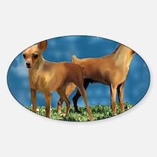 minpins Sticker (Oval)