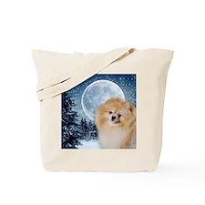 PomWinterMousepad Tote Bag