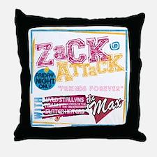 Zack_Attack_Shirt Throw Pillow