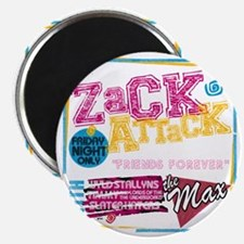 Zack_Attack_Shirt Magnet