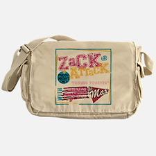 Zack_Attack_Shirt Messenger Bag