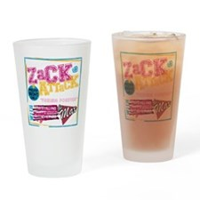 Zack_Attack_Shirt Drinking Glass