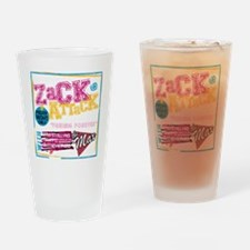 Zack_Attack_Shirt Drinking Glass