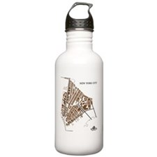 M-YL_NYC-NY_GD-BK_1 Water Bottle