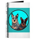 Australian Cattle Dog Pair Journal