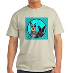 Australian Cattle Dog Pair Light T-Shirt