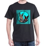 Australian Cattle Dog Pair Dark T-Shirt
