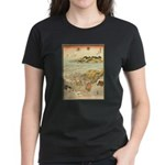 Japanese illustration Women's Dark T-Shirt