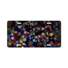 AlltheMarbles Aluminum License Plate