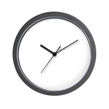 SOPA Dyslexics white Wall Clock