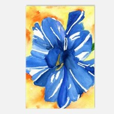 Blue tulip 375 Postcards (Package of 8)