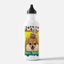 InviteCupcakePomerania Water Bottle