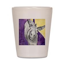 Smile donkey Shot Glass