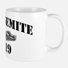 yosemite black letters Mug