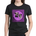 Border Terriers Women's Dark T-Shirt