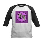 Border Terriers Kids Baseball Jersey