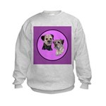Border Terriers Kids Sweatshirt
