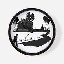 Woman-in-Black Wall Clock