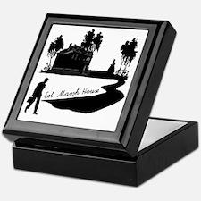 Woman-in-Black Keepsake Box