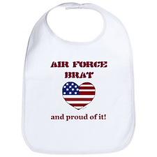 Air Force 2 Brat Bib
