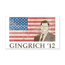 Newt GingrichVintage1 Rectangle Car Magnet