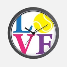 multi2, Tennis LOVE Wall Clock