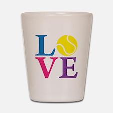 multi2, Tennis LOVE Shot Glass