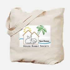 Rabbit in the House Tote Bag