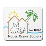 Rabbit in the House Mousepad