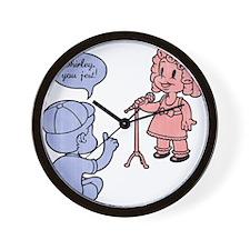 shirley-jest-T Wall Clock