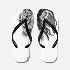 bearded-rasta-dragon Flip Flops