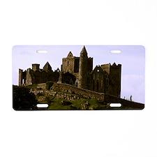 Rock of Cashel Aluminum License Plate