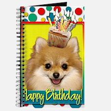 BirthdayCupcakePomeranian Journal