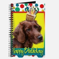 BirthdayCupcakeIrishSetter Journal