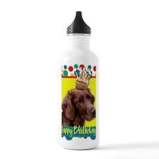 BirthdayCupcakeIrishSe Water Bottle