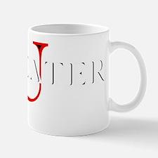 Maneater University (red U) Mug