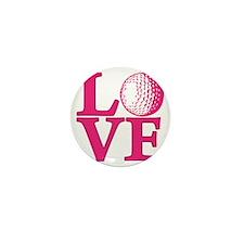 melon, Golf LOVE Mini Button