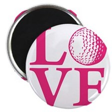 melon2, Golf LOVE Magnet