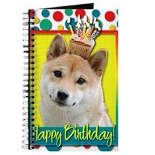 BirthdayCupcakeShibaInuBlonde Journal