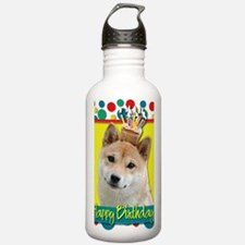 BirthdayCupcakeShibaIn Water Bottle