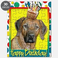 BirthdayCupcakeRhodesianRidgeback Puzzle