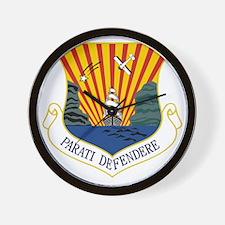 6th AMW - Parati Defendere Wall Clock