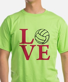melon2, Volleyball LOVE T-Shirt