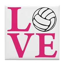 melon2, Volleyball LOVE Tile Coaster
