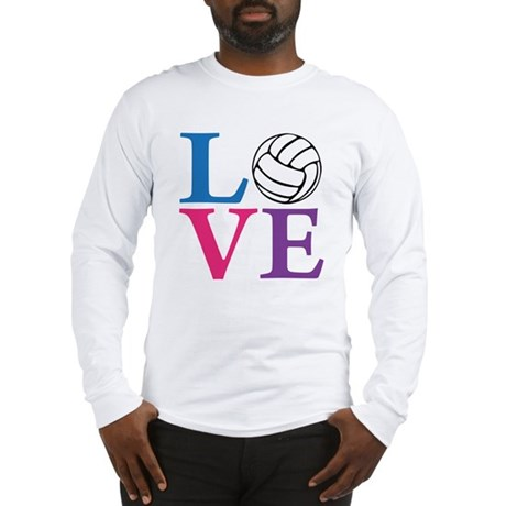 multi2, Volleyball LOVE Long Sleeve T-Shirt