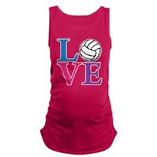 multi2, Volleyball LOVE Maternity Tank Top