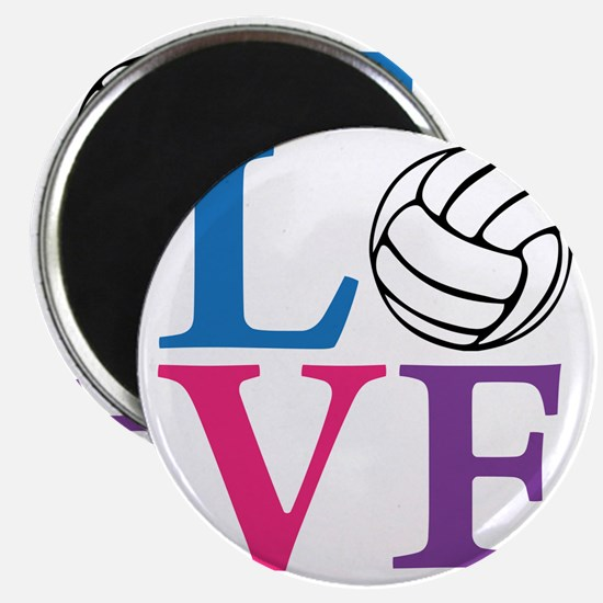 multi2, Volleyball LOVE Magnet