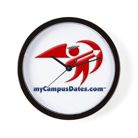 myCampusDates.com Wall Clock