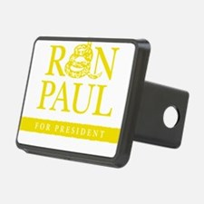 Ron_Paul_Gadsden-gold Hitch Cover