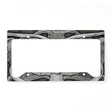 ribcage-grey_9-5x18hr License Plate Holder
